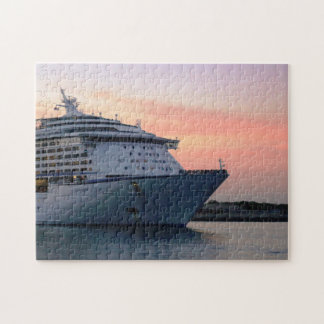 Explorer at Evening Jigsaw Puzzle
