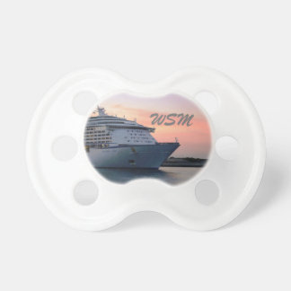 Explorer at Evening Monogrammed Pacifier