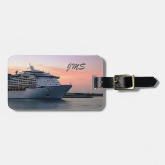 Explorer at Evening Personalized Bag Tag