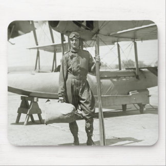 Explorer Byrd and Seaplane: early 1900s Mouse Pad