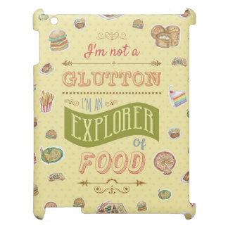 Explorer Of Food iPad Cover