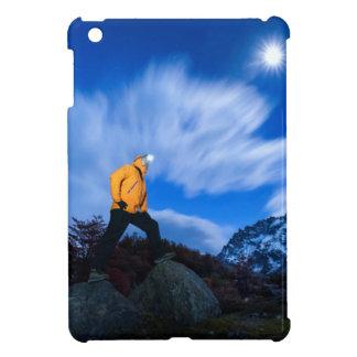 Explorer On Cerro Torre Area iPad Mini Cases