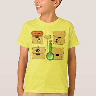 Explorer Vest with Yellow Beetle T-Shirt