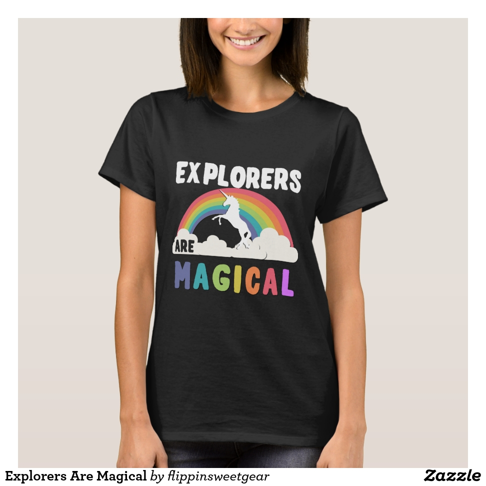 Explorers Are Magical T-Shirt - Best Selling Long-Sleeve Street Fashion Shirt Designs