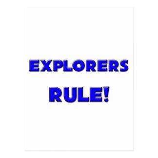 Explorers Rule Postcards