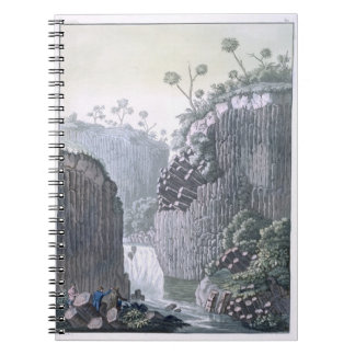 Explorers with Humboldt's Expedition in the Basalt Notebook