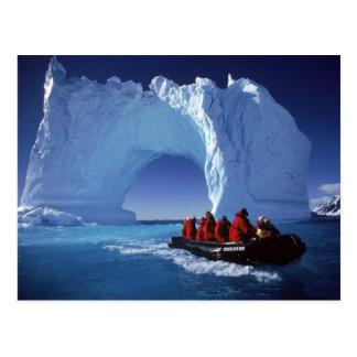 Exploring Antarctica Postcard