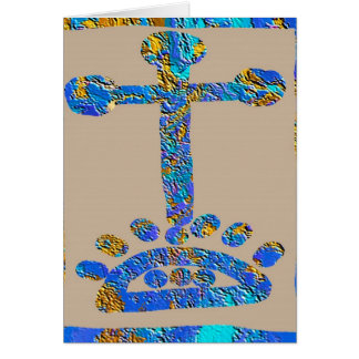 Exploring Christinity -  Love for Jesus and Cross Card
