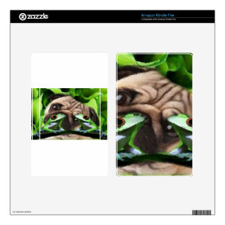 Exploring Frog Life Amazon Kindle Fire skin