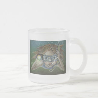 Exploring Frosted Glass Coffee Mug