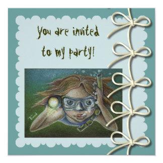 Exploring 5.25x5.25 Square Paper Invitation Card