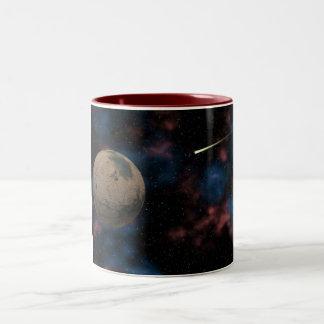 Exploring Planet Mars Two-Tone Coffee Mug