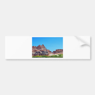 """Exploring the Badlands"" collection Bumper Sticker"
