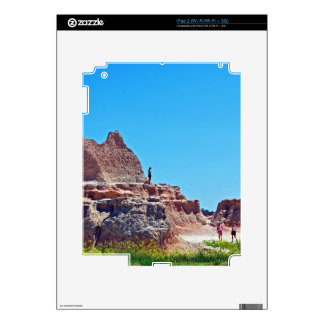 """""""Exploring the Badlands"""" collection Decal For The iPad 2"""