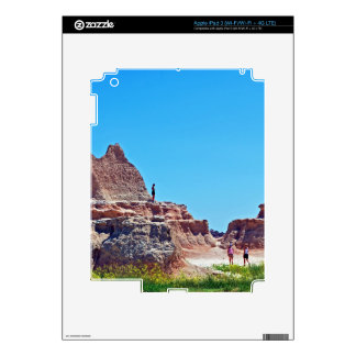 """""""Exploring the Badlands"""" collection iPad 3 Decal"""