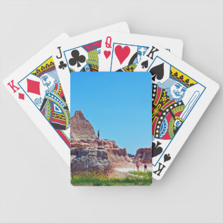 """Exploring the Badlands"" collection Bicycle Playing Cards"
