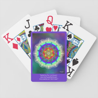 Exploring the Continuum Bicycle Playing Cards