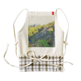 Exploring the hills zazzle HEART apron