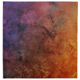 ¡Explosión abstracta colorida brillante del color Servilletas