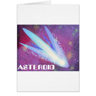 Explosión asteroide de Digitaces Tarjeta De Felicitación