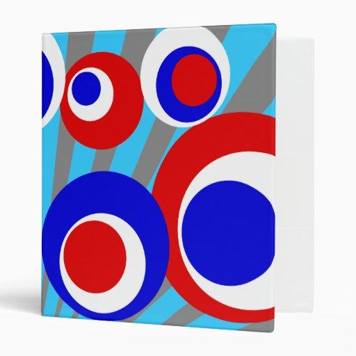"""explosión azul blanca roja del gris de los puntos carpeta 1"""""""