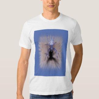 explosión azul de la araña poleras