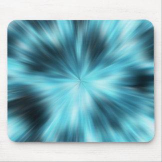 explosión azul tapetes de ratón