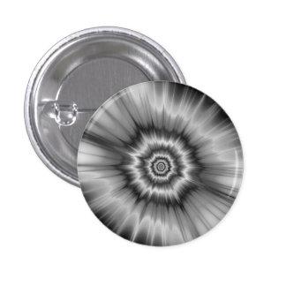¡Explosión blanco y negro! Botón Pin Redondo De 1 Pulgada