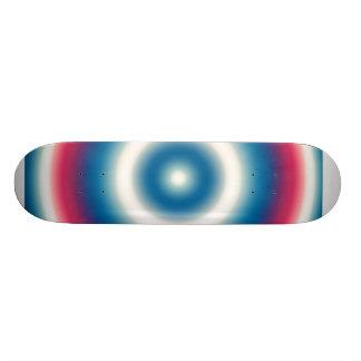Explosion Blue Skate Deck