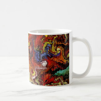 Explosion by rafi talby classic white coffee mug
