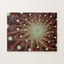 Explosion Cool Abstract Fine Fractal Art Jigsaw Puzzle