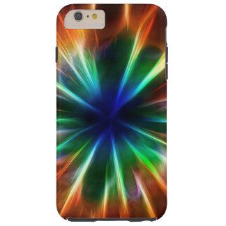 Explosión cósmica fresca funda de iPhone 6 plus tough