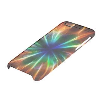Explosión cósmica funda clearly™ deflector para iPhone 6 de uncommon