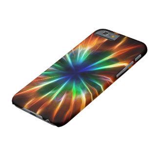 Explosión cósmica funda de iPhone 6 barely there
