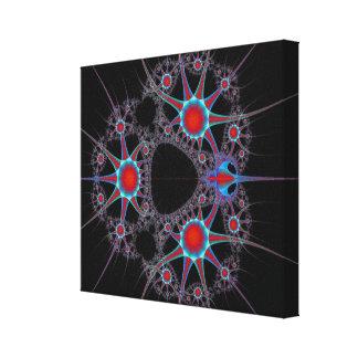 Explosión cósmica impresión en tela