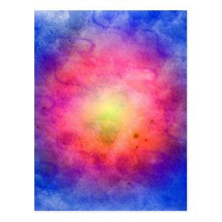 Explosión cósmica postales