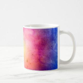 Explosión cósmica taza de café