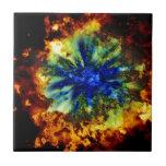 Explosión cósmica tejas  ceramicas