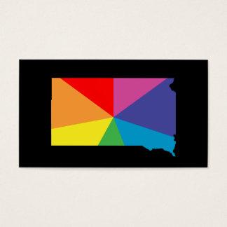 explosión de color de Dakota del Sur Tarjetas De Visita