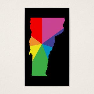 explosión de color de Vermont Tarjetas De Visita