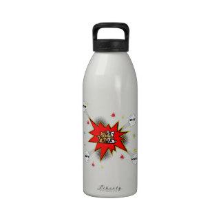 Explosión de la adopción del mascota botellas de agua reutilizables