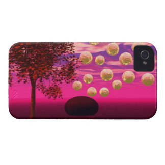 Explosión de la alegría - inspiración abstracta de Case-Mate iPhone 4 protector