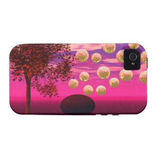 Explosión de la alegría - inspiración abstracta de iPhone 4 carcasa
