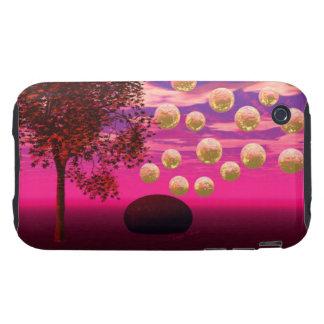 Explosión de la alegría - inspiración abstracta de tough iPhone 3 protector