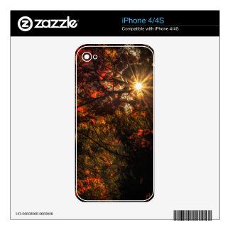 Explosión de la caída skin para el iPhone 4S