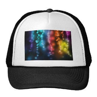 Explosión de la cinta del color gorras