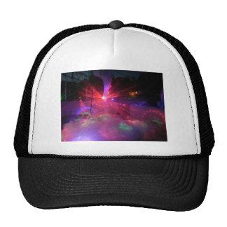 explosión de la danza del laser gorra