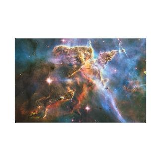 Explosión de la estrella de la supernova de las ne impresión de lienzo