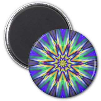 Explosión de la estrella imán redondo 5 cm