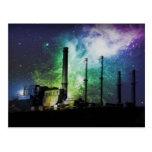 explosión de la fábrica tarjetas postales